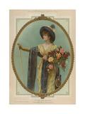 La Tosca, Sarah Bernhardt Giclee Print