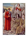 Illustration for Dante's Divine Comedy Giclee Print by Tancredi Scarpelli