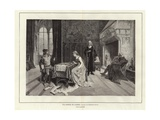 A Game of Chess Giclee Print by Gerolamo, Induno