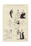 Comment on Rate Un Riche Mariage Giclee Print by Albert Guillaume