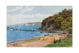 The Beach, Studland Bay Giclee Print by Alfred Robert Quinton