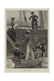 At the Regatta Giclee Print by Richard Caton Woodville II