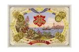 Cuban Cigar Box Label Giclée-Druck
