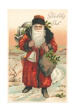Santa Giclee Print by German School