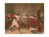 La Rixe Giclee Print by Jean-Louis Ernest Meissonier