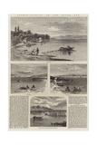 Salmon Fishing on the River Tay Giclee Print