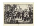 Life on Board a Man-Of-War Giclee Print by William Heysham Overend