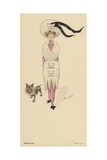 Winter 1910-1911 Fashions Giclee Print by Xavier Sager