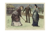 Spring Meeting of the All England Croquet Club at Wimbledon Giclee Print