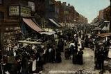 Chapel Street, Islington, London Papier Photo