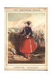 Cantineer Polka Giclee Print by John Brandard