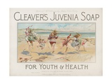 Cleaver's Juvenia Soap for Youth and Health Giclee Print