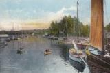 Wroxham, from Bridge Photographic Print
