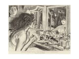 Madame Sarah Bernhardt in Her Dressing Room Giclee Print by Charles Paul Renouard