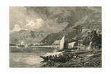 Locarno, on the Lago Maggiore Giclee Print by  Swiss School