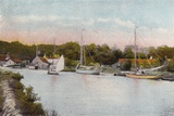 Yachting Staithe, Coltishall Photographic Print