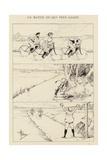 Un Match Ou Qui Perd Gagne Giclee Print by Albert Guillaume