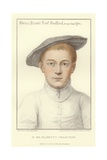 Francis Russell, Earl of Bedford Giclee Print by Hans Holbein the Younger