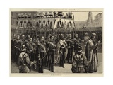 Processon of the Emperor and Empress Giclee Print by William Heysham Overend