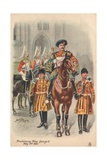 Proclaiming King George V Giclee Print by Harry and Arthur Charles Payne
