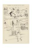 Comment on Devient De La Ligue Giclee Print by Albert Guillaume