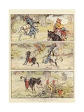 A Comedy in Three Acts Giclee Print by Charles Edmund Brock
