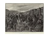 The Lourdes Pilgrimage Giclee Print by Henri Lanos