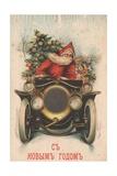 Russian Christmas Card Giclee Print