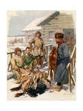 A Northern Fur Merchant Giclee Print by Frederic De Haenen