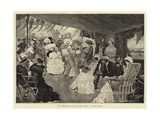 An Afternoon Dance on Board a Man-Of-War Giclee Print by Richard Caton II Woodville