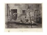 Venetian Fruiterer Giclee Print