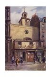 Church of St Ethelburga, Bishopsgate Street, London Giclee Print by Charles Edwin Flower