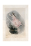 Marie Taglioni in La Sylphyde Giclee Print by Alfred-edward Chalon