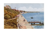 Promenade Looking East, Dovercourt Bay Giclee Print by Alfred Robert Quinton