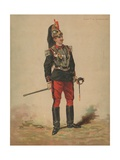Capitaine De Cuirassiers Giclee Print