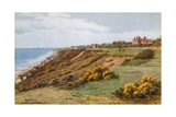 Frinton, Cliffs and Beach from E Giclee Print by Alfred Robert Quinton