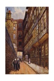 Middle Temple Lane, London Giclee Print by Charles Edwin Flower