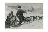 Samoyedes Giclee Print by Frederic De Haenen