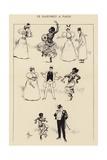 Le Dahomey a Paris Giclee Print by Albert Guillaume