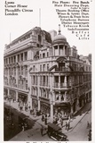 Lyons Corner House on Piccadilly Circus Photographic Print