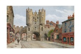 Micklegate Bar, York Giclee Print by Alfred Robert Quinton