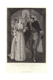 King Henry Viii and Anne Bullen, King Henry Viii, Act I, Sc Iv Giclee Print by Arthur Hopkins