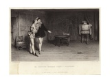 Prince Henry and Falstaff Giclee Print by Sir William Quiller Orchardson