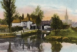 Pull's Ferry, Norwich Photographic Print by  English Photographer