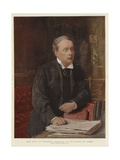 The Earl of Rosebery Speaking in the House of Lords Giclee Print by Sydney Prior Hall