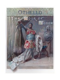 Illustration for Shakespeare's Othello Giclee Print by Ludovico Marchetti