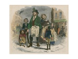 The Christmas Carol Giclee Print by Henry George Hine