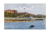 Dovercourt Bay, from the Sea Giclee Print by Alfred Robert Quinton
