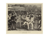 Cricket at Lord's - Eton V Harrow Giclee Print by Sydney Prior Hall