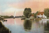 Horning Ferry Photographic Print